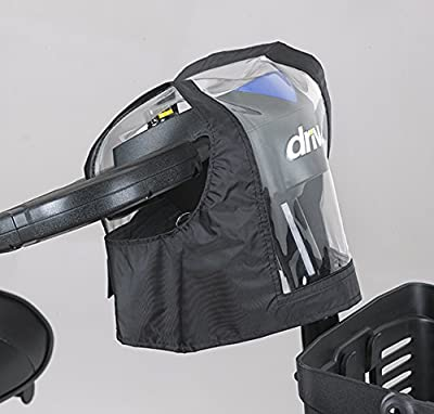 Mobility Scooter Control Panel/Tiller Cover (Black) from Ducksback