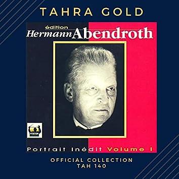 Hermann Abendroth dirige Mendelssohn (A midsummer night dream) et Schubert (Symphonie n° 9)