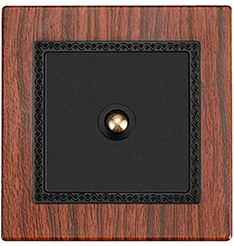 Interruptor hecho a mano PC Panel Interruptor de pared DIY interruptor de palanca con 1 pandilla / 2 Gang / 3 Gang / 4 Gang 2 Way Single Doble Control Light Switch (Size : 1 Gang)
