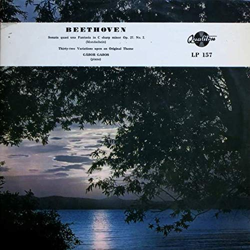 Ludwig van Beethoven , Gábor Gabos - Sonate Quasi Una Fantasia In...