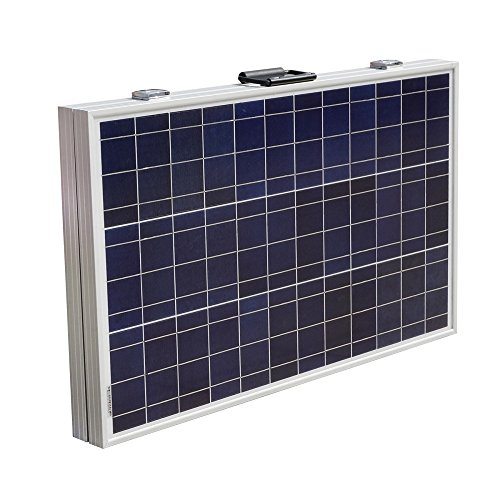 ECO-WORTHY 12 Volts 120 Watts Portable Folding Polycrystalline PV Solar Panel...