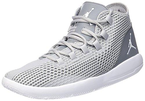 Nike Herren Jordan Reveal Basketballschuhe, Grau WLF Gry Weiß Cl Gry Infrrd 23, 45.5 EU