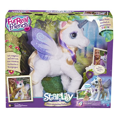 Hasbro FurReal Friends B0450100 - StarLily, elektronisches Einhorn
