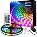 Solmore 16.4ft Color Changing RGB Smart LED Strip Lights