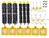 WDGNY Accesorios de limpieza 10 unids filtro HEPA barrido robot aspirador Accesorios reemplazo para IRobot Roomba 700 Series 760 770 780 790 (color: estilo a) kit de cepillo (color: estilo a)