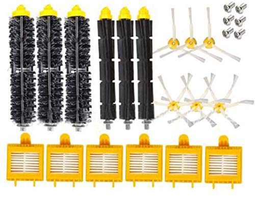 YAJIWU 10 piezas de repuesto de filtro HEPA para aspiradoras IRobot Roomba 700 Series 760 770 780 790 (color: estilo a) (color: estilo a)