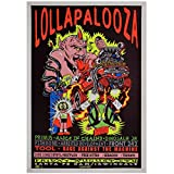 Chifang Lollapalooza Music Festival Poster Poster