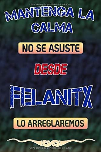 Mantenga la calma no se asuste desde Felanitx lo arreglaremos: Cuaderno | Diario | Diario | Página alineada