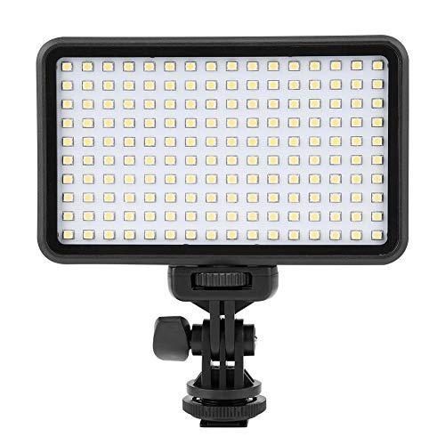 OIHODFHB PAD160 Luz de vídeo 3200-6000K Dimmable Llenar Luces de Fotografía Conjunto de Lámpara LED (EU 110-240V)