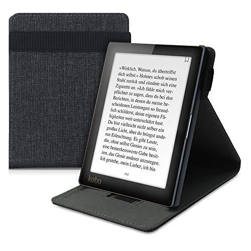 kwmobile Funda Compatible con e-Reader Kobo Aura Edition 1 - Carcasa de Tela para Lector electrónico Textil
