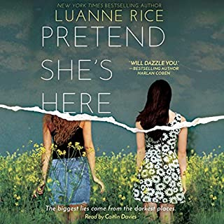 Pretend She's Here audiobook cover art