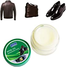 Leather Repair Cream, Hamkaw Leather Conditioner, Leather Salve, Leather Repair Kits for Couches, Car Leather Conditioner - for Couches, Shoes, Car Seats and Leather Goods - 1.7 oz
