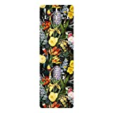 Perchero - Flowers with Tropical Birds Stained 139 x 46cm