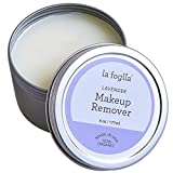 La Foglia Lavender Makeup Remover (Made In USA)100% Organic Lavender Makeup Removal and Face, Body Cream With Pure all Natural Ingredients - 6 Ounces