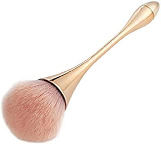 STELLAIRE CHERN Large Makeup Brush Foundation Face Makeup Brush - Gold