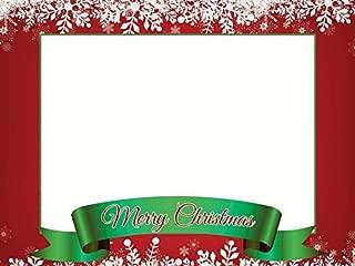 Merry Christmas Selfie Frame Poster DYI Photo Booth Frame Prop Christmas Decoration Christmas Party X-mas Christmas Photo Booth Christmas Frame Holiday Photo Booth Selfie Frame Sizes 36x24 Inches