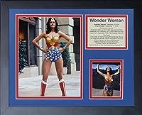 11x14 FRAMED WONDER WOMAN 8X10 PHOTO LYNDA CARTER CAST PREMIERE 1976 YEOMAN