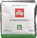 Confezione da 18 capsule Gusto e aroma come nella tostatura Media con i vantaggi della migliore tecnica di estrazione della caffeina: inferiore allo 0,05% Iperespresso è un'esclusiva illy. Garantisce la possibilità di ottenere anche a casa un espress...