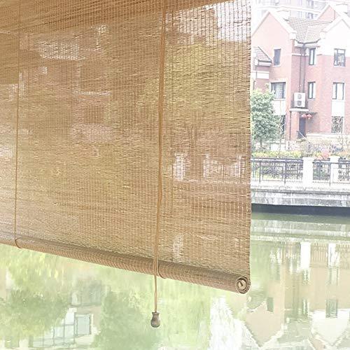 HWF Verdunkelungsrollo Außenterrasse Sun Shade Roller Shade, Außenveranda Rollläden für Deck Back Yard Gazebo Pergola, 45/65/85/105/125/135 cm Breit (Size : 85×180cm)