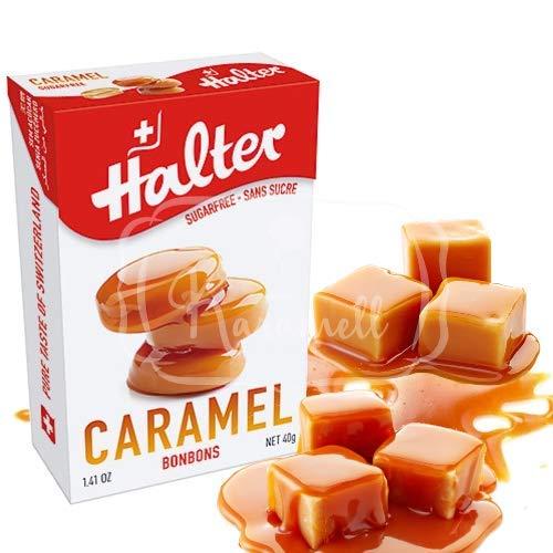 HALTER Caramel Bonbons ohne Zucker