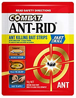 Combat Ant-Rid Bait Strips, with Fast Kill Action, Insecticides, 20g, 10 Pack (B077JJPRR9) | Amazon price tracker / tracking, Amazon price history charts, Amazon price watches, Amazon price drop alerts