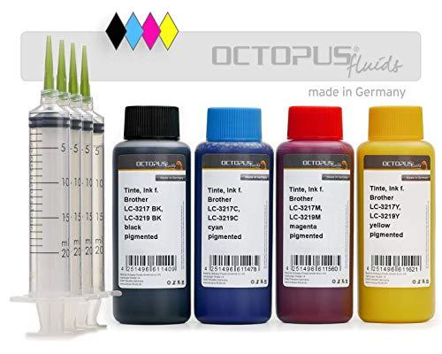 Druckertinte für Brother LC-3217, LC-3219 100 ml 100 ml X SET