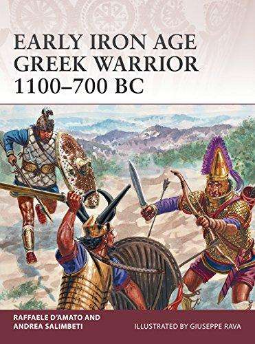 Early Iron Age Greek Warrior 1100–700 BC (English Edition)