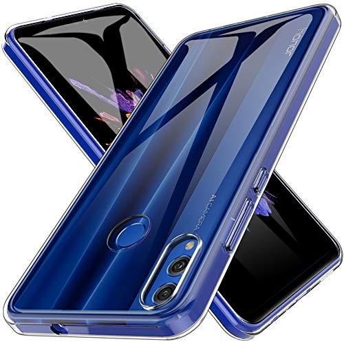 Capa LK para Estojo 8 Lite para Huawei Honor 10X / Honor View, Estojo em Gel Estabilizador de Mole para Silicone Ultra em Ultra TPU [Slim Thin] Protective - Transparente