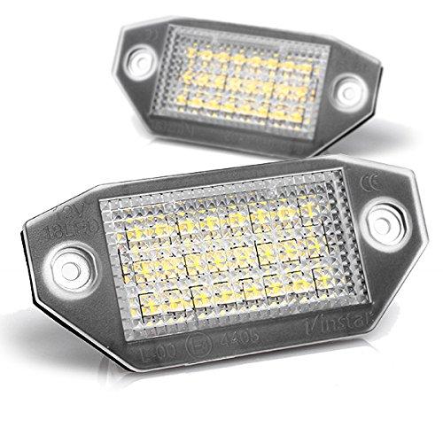 Light-Delux - Iluminación led para matrícula, homologada