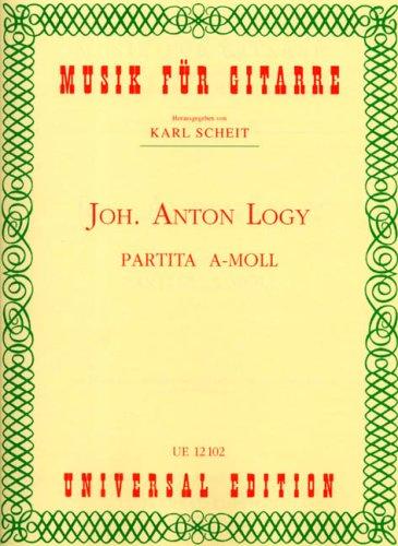 Partita A-Moll: für Gitarre.