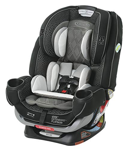 Graco 4Ever Extend2Fit 4 in 1 Car Seat | Ride Rear Facing Longer...