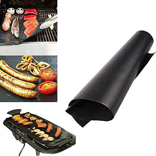 WPCASE Grillmatten Grillmatten FüR Gasgrill Grillfolie BBQ Grillmatte Grillmatten FüR Holzkohle Antihaft Grillmatte Grill Matten Grillmatte Grillgitter Grillrost Edelstahl 1