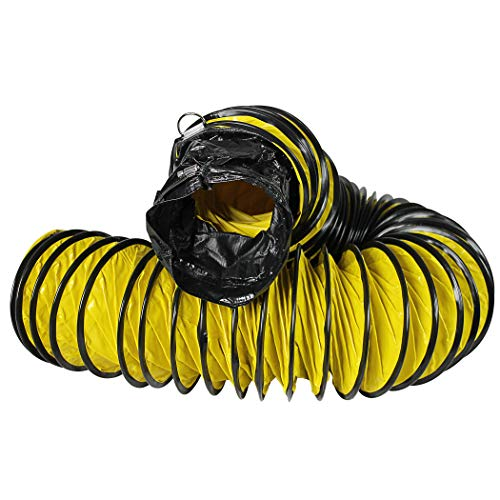 ProAire PACDH16SM 16-Ft. Vent Small Commercial Dehumidifier Hose, Yellow
