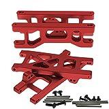 4pcs Aluminum Front&Rear Lower Suspension A-Arms for RC Car 1/10 ECX 2WD Series Parts