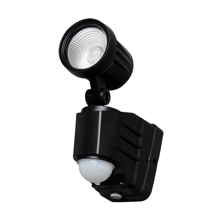 ピアースジョブ脊椎アイリスオーヤマ 乾電池式センサーライト 1灯 電球色 LSL-B3SL-100