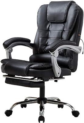 hjh OFFICE 621864 VINTAGE - Silla de oficina, piel sintética ...