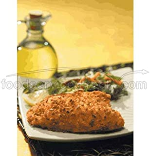 Viking Pecan Crusted Natural IQF Breaded Tilapia Fillet, 4 to 5 Ounce -- 1 each.