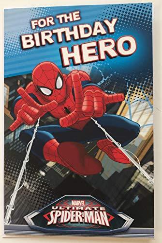 Marvel Geburtstagskarte mit Spiderman – für den Geburtstags-Helden