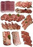 Colis de Porc 9kg Viande de Porc Française Auvergne. Boucherie du Canal - Livraison Réfrigérée par ChronoFresh: Respect de la chaîne du froid Garanti - Partout en France