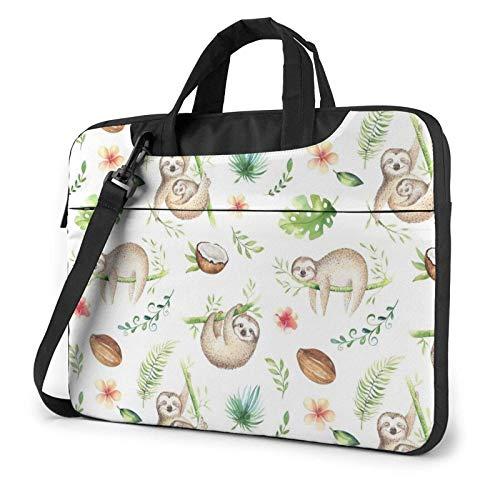 Bolso de Hombro Impreso Cuarto de niños del Ordenador portátil de Slo-TH, maletín del Bolso de Mensajero del Negocio del Bolso de la Caja del Ordenador portátil