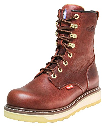 Cactus Work Boots 830 Wine Size 9