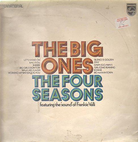 Four Seasons The Big Ones LP Philips 6336208 EX/EX 1970s black label