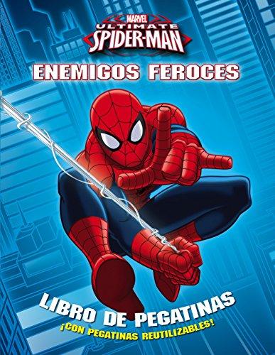 Spider-man. Enemigos feroces: Libro de pegatinas