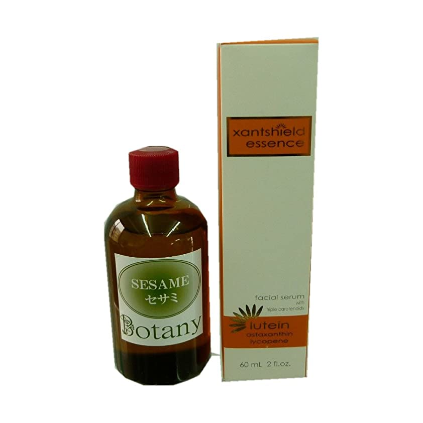 欠伸一時停止ライトニングサンシールドエッセンス美容液+Botanyセサミオイル