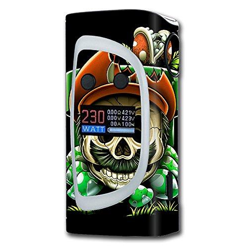 Skin Decal Vinyl Wrap for Sigelei Kaos Spectrum Vape Mod stickers skins cover/ Gangster Mario face