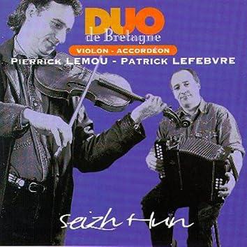 Seizh Hun (Fiddle and Diatonic Accordion- Celtic Instrumentals Music from Brittany - Keltia Musique - Bretagne)
