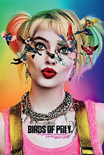 51lFrhxNm6L Harley Quinn Birds of Prey Posters