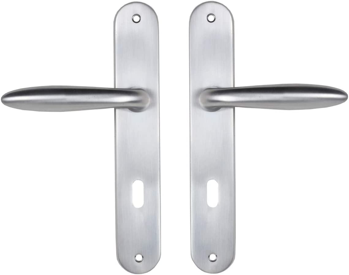 Bricard Lowest price challenge Ultra-Cheap Deals 984050 Set of Zamak Handles Bedroom on Plate for Sketch