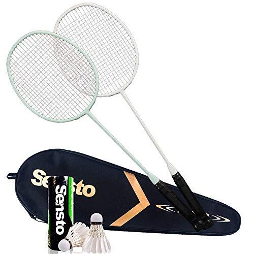 Xiaoyue 100{a0d7c1fa4ca0e20a3c51068d819429d1cf48b60e0e2898a1e2cda076b098d0a7} Vollcarbonfaser-Hochspannungs Schnur Badmintonschläger, Profi-Wettbewerb Design Welle Badmintonschläger, Leicht Graphite Einzelbadmintonschläger Badmintontasche. lalay (Color : 3)