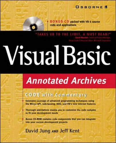 Visual Basic Annotated Archives